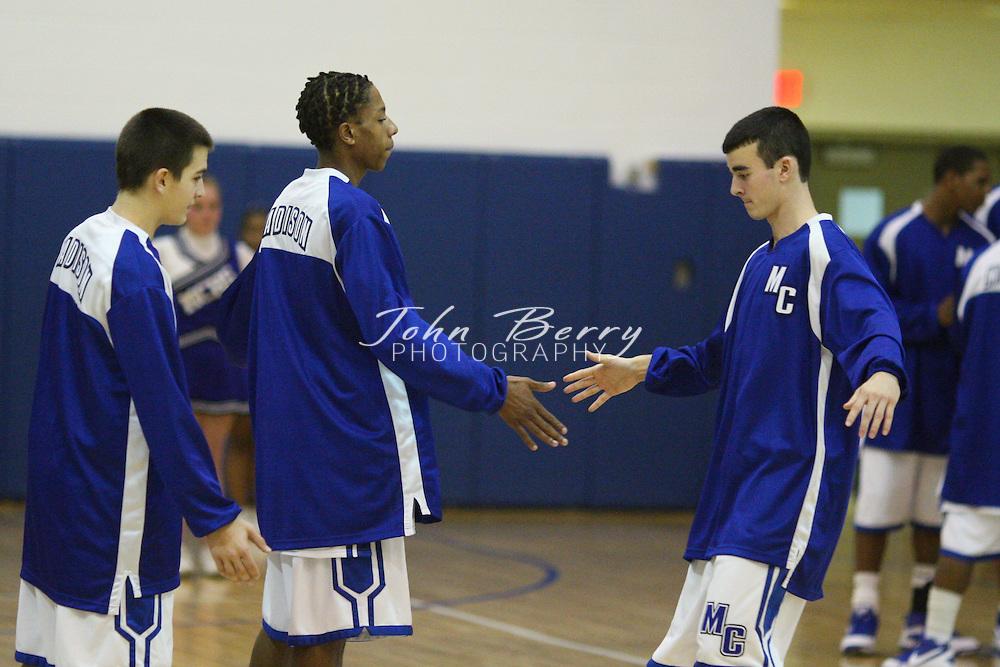 MCHS Varsity Boys Basketball .vs Page .1/2/2009