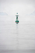 buoy in the fog