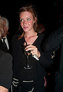 KATE GOLDSMITH, The Ormeley dinner in aid of the Ecology Trust and the Aspinall Foundation. Ormeley Lodge. Richmond. London. 29 April 2009
