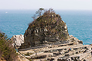Geojedo (Geoje Island), Hallyeo Maritime National Park. Haegeumgang. Rugged coastline.