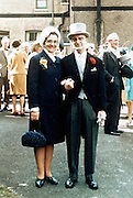 parents at a wedding England 1960s