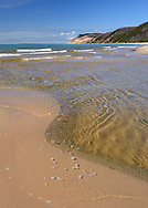 Otter Creek Meets Lake Michigan at Esch Beach<br />
