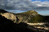 France, Languedoc Roussillon, Gard (30), Cévennes, Anduze, la porte des Cévennes