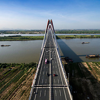 Vietnam | North | Hanoi | Landmark | Nhat Tan bridge