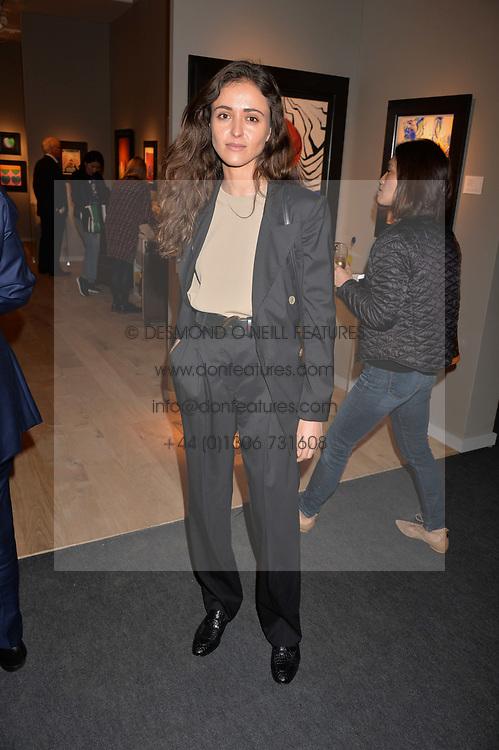 Barbara Casasola at the 2017 PAD Collector's Preview, Berkeley Square, London, England. 02 October 2017.