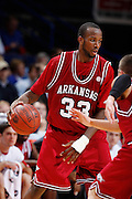 Marshawn Powell.Arkansas Razorbacks.(Photo by Joe Robbins)