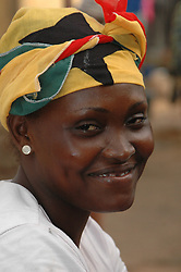 Ghana, Accra, 2007. Smiles abound in Ghana at any time of year, but seem especially bright on Independence Day.