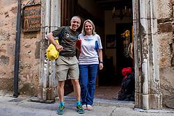 10-06-2017 SPA: We hike to change diabetes day 1, Astorga<br /> De eerste dag met de aankomst in Astorga. De volgende dag start de Camino voor een kleine 50 man. Spain