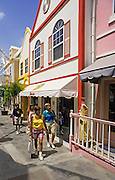 Image of the town of Philipsburg on dutch Sint Maarten