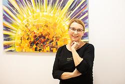 Portrait of Slovenian Actor Darja Reichman at studio Juturna, on February 26, 2020 in Ljubljana, Slovenia. Photo by Vid Ponikvar / Sportida