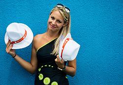 Tadeja Dolinsek during ATP Challenger Zavarovalnica Sava Slovenia Open 2017, on August 10, 2017 in Sports centre, Portoroz/Portorose, Slovenia. Photo by Vid Ponikvar / Sportida