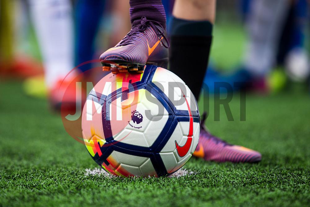 Bristol Rovers Premier League Kicks holiday camp attendees use Nike footballs with the new 2017/18 Premier League design - Rogan Thomson/JMP - 01/06/2017 - FOOTBALL - Horfield Leisure Centre - Bristol ,England.