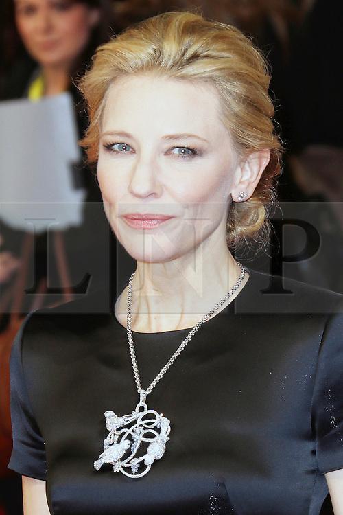 © Licensed to London News Pictures. 16/02/2014, UK. Cate Blanchett, British Academy Film Awards - BAFTAS, Royal Opera House, London UK, 16 February 2014. Photo credit : Richard Goldschmidt/Piqtured/LNP