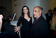 NIGELLA LAWSON; ALAN YENTOB, The Revolution Continues: New Art From China. The opening of the New Saatchi Gallery. King's Rd.  London. 7 October 2008. *** Local Caption *** -DO NOT ARCHIVE-© Copyright Photograph by Dafydd Jones. 248 Clapham Rd. London SW9 0PZ. Tel 0207 820 0771. www.dafjones.com.