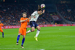 March 28, 2017 - Amsterdam, Netherlands - Alessio Romagnoli from Italy during the friendly match between Netherlands and Italy on March 28, 2017 at the Amsterdam ArenA in Amsterdam, Netherlands. (Credit Image: © Andy Astfalck/NurPhoto via ZUMA Press)
