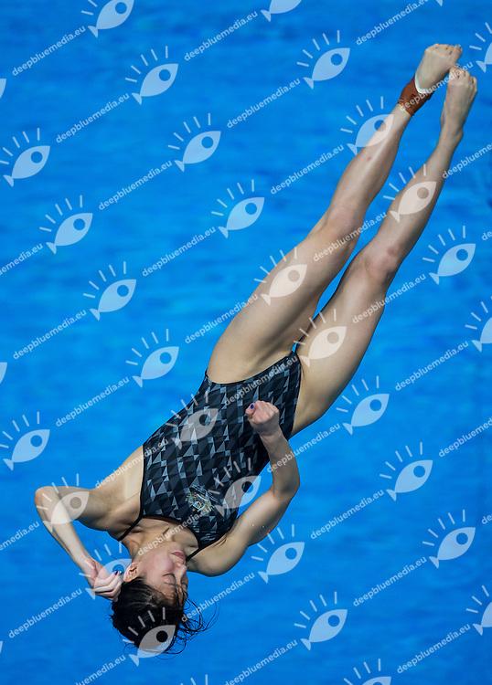QIN Esther AUS<br /> Diving - Women's 3m Springboard final<br /> Day 09 01/08/2015<br /> XVI FINA World Championships Aquatics Swimming<br /> Kazan Tatarstan RUS July 24 - Aug. 9 2015 <br /> Photo Giorgio Perottino/Deepbluemedia/Insidefoto