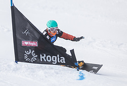 Dancha Annamari during the FIS snowboarding world cup race in Rogla (SI / SLO) | GS on January 20, 2018, in Jasna Ski slope, Rogla, Slovenia. Photo by Urban Meglic / Sportida