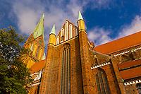 Cathedral (Dom), Schwerin, Mecklenburg-West Pomerania, Germany