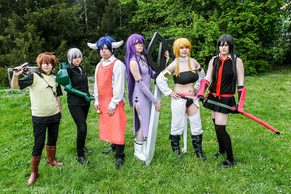 akame ga Kill. Cosplayer at Animefest 2015 in the city of Brno, czech republic.