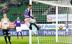10.02.2018, Ernst Happel Stadion, Wien, AUT, 1. FBL, FK Austria Wien vs Lask, 22. Runde, im Bild Christoph Mondschein (FK Austria Wien) // during Austrian Football Bundesliga Match, 22nd Round, between FK Austria Vienna and Lask at the Ernst Happel Stadion, Vienna, Austria on 2018/02/10. EXPA Pictures © 2018, PhotoCredit: EXPA/ Alexander Forst