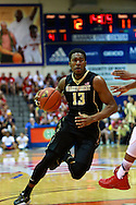 November 23 2015: Wake Forest Demon Deacons guard Bryant Crawford brings up the ball versus Indiana Hoosiers during the Maui Invitational at  Lahaina Civic Center on Maui, HI. (Photo by Aric Becker)