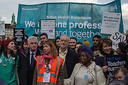 26 Apr 2016 - Thousands march in central London to support of Junior Doctors