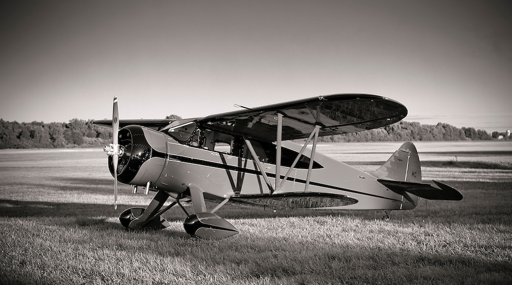 WACO EGC-8, first completed on 22 September, 1938.
