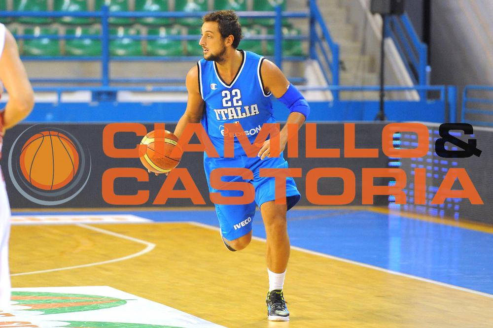 DESCRIZIONE : Cipro European Basketball Tour Italia Russia Italy Russia<br /> GIOCATORE : Marco Belinelli<br /> CATEGORIA : Palleggio<br /> SQUADRA : Nazionale Italia Uomini <br /> EVENTO : European Basketball Tour <br /> GARA : Italia Russia <br /> DATA : 06/08/2011 <br /> SPORT : Pallacanestro <br /> AUTORE : Agenzia Ciamillo-Castoria/GiulioCiamillo<br /> Galleria : Fip Nazionali 2011 <br /> Fotonotizia :  Cipro European Basketball Tour Italia Russia Italy Russia<br /> Predefinita :