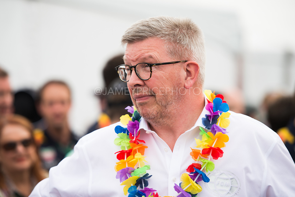 June 8-11, 2017: Canadian Grand Prix. Ross Brawn, Formula One Managing Director of Motorsports