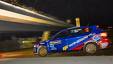 Whangarei-Rally of Northland night stage through city