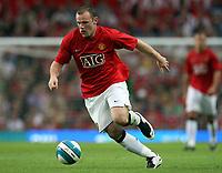 Photo: Paul Thomas.<br />Manchester United v Inter Milan. Pre Season Friendly. 01/08/2007.<br /><br />Wayne Rooney of Utd.