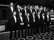 "Bank Of Ireland GAA Hurling Allstars..1986..31.01.1986..01.31.1986..31st January 1986..To celebrate their achievements on the field of hurling the following players were recognised by the GAA and Bank of Ireland:.Pat Delaney,Offaly.Seamus Coen, Galway.Sylvie Linnane,Galway.Ger Coughlan,Offaly.Liam Fennelly,Kilkenny.Nicholas English,Tipperary.John Fenton,Cork.Pat Cleary,Offaly.Ger Cunningham,Cork.Padraig Horan,Offaly.Joe Cooney,Galway.Brendan Lynsky,Galway.Eugene Coughlan,Offaly.Pat Critchly,Laois.Peter Finnerty,Offaly...Inducted into the Hall of Fame were Tim Landers and John Joe Landers for football and Frank O'Rourke for hurling.The award ceremony was held at The Burlington Hotel,Dublin...Photograph of the ""Allstars"" as the line up for the media..L-R front row:.Seamus Coen, Galway.Sylvie Linnane,Galway.Ger Coughlan,Offaly.Liam Fennelly,Kilkenny.Nicholas English,Tipperary.John Fenton,Cork.Pat Cleary,Offaly.L-R back row:.Ger Cunningham,Cork.Padraig Horan,Offaly.Joe Cooney,Galway.Brendan Lynsky,Galway.Eugene Coughlan,Offaly.Pat Critchly,Laois.Peter Finnerty,Offaly.."