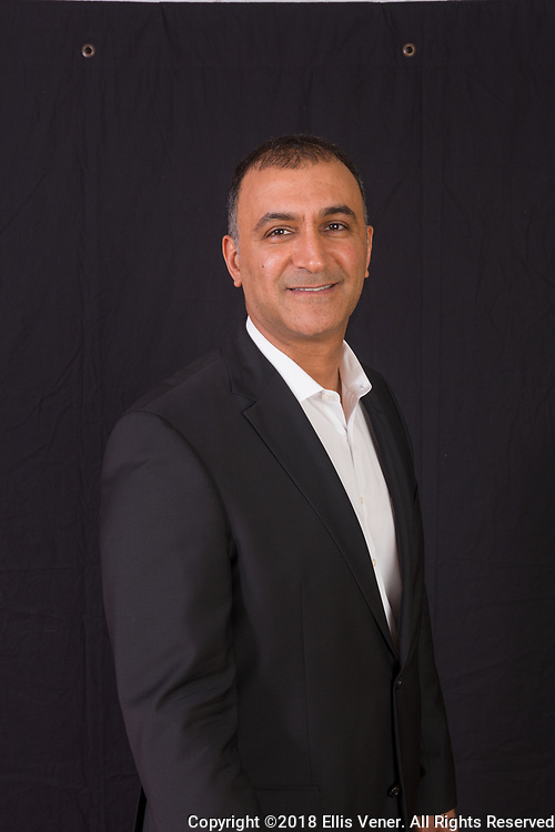 Portrait of Dr. Abtin Shahriari for  the Goldstein, Garber and Salama dental practice, January 24, 2018