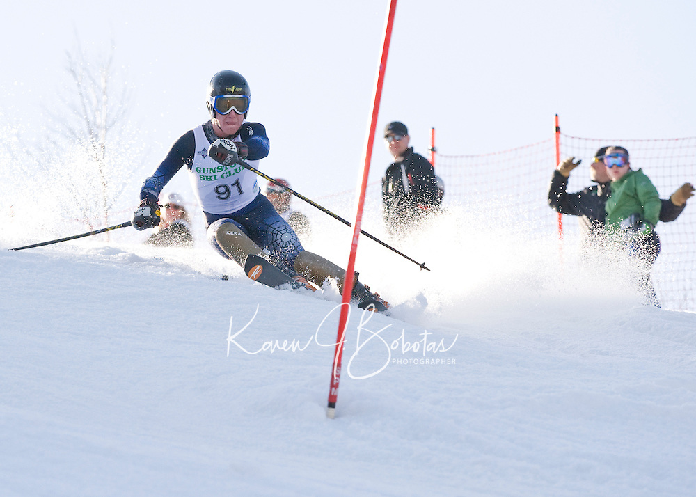 J1 J2 Lafoley Slalom at Gunstock March 7, 2010....