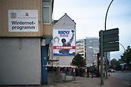 Winternotprogramm in der Spaldingstraße