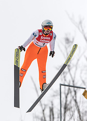 02.02.2019, Energie AG Skisprung Arena, Hinzenbach, AUT, FIS Weltcup Ski Sprung, Damen, Wertungsdurchgang, im Bild Claudia Purker (AUT) // Claudia Purker (AUT) during the woman's Competition Jump of FIS Ski Jumping World Cup at the Energie AG Skisprung Arena in Hinzenbach, Austria on 2019/02/02. EXPA Pictures © 2019, PhotoCredit: EXPA/ Reinhard Eisenbauer