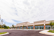 Baltimore Office building exterior image of Reisterstown Crossing by Jeffrey Sauers of Commercial Photographics, Architectural Photo Artistry in Washington DC, Virginia to Florida and PA to New England