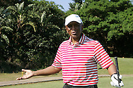 Mtutuzeli Nyoka during the Airtel CLT20 golf day held at Zimbali Country Estate outside Durban in Kwa Zulu Natal on the 23 September 2010..Photo by: Ron Gaunt/SPORTZPICS/CLT20
