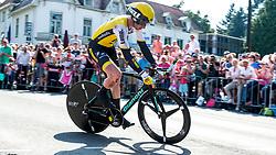 06-05-2016 NED: Giro d Italia 2016 Etappe 1, Apeldoorn<br /> De 99ste editie van de Ronde van Italië. De eerste etappe, een individuele tijdrit van 9,8 kilometer / Jos van Emden NED- Team Lotto Jumbo