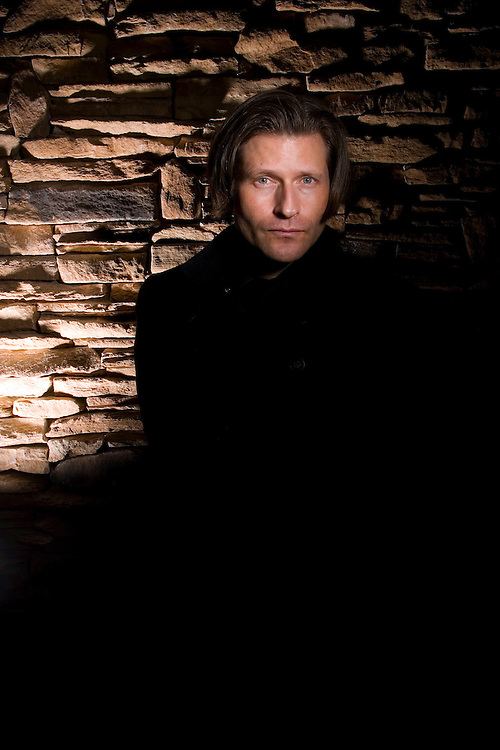 """Actor, Director and writer Crispin Glover portrait to promote his new movie """"It Is Fine!  EVERYTHING IS FINE"""" at the Marriott Hotel  during the Sundance Film Festival Saturday January 20, 2007 in Park City, Utah.  August Miller/ Deseret Morning News"""