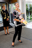 Gothenborg, 10-09-2015<br /> <br /> Pregnant Crown Prince Victoria and Princess Daniel at their visit to AstraZeneca.<br /> <br /> <br />  Photo: Royalportraits Europe/Bernard Ruebsamen