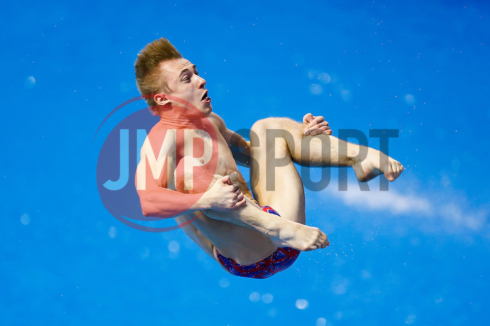 Jack Laugher of Great Britain in action in the Mens 3m Springboard - Photo mandatory by-line: Rogan Thomson/JMP - 07966 386802 - 21/08/2014 - SPORT - DIVING - Berlin, Germany - SSE im Europa-Sportpark - 32nd LEN European Swimming Championships 2014 - Day 9.