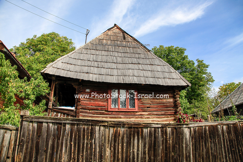 Traditional wooden house, Maramures County, Romania