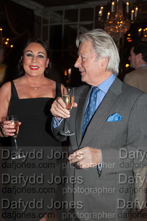 VIVIAN STAMP; BRIAN HUDY, Eva Harold birthday party. Ballroom, Beach Blanket Babylon. Notting Hill, London. 19 November 2012.
