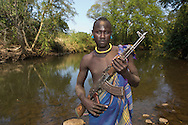 mursi tribe in southern Ethiopia,