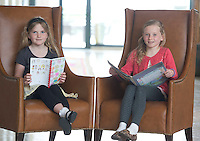 02/06/2014 Orla Ni Chonnall, An Spideal and Annalee McHael from An Forbacha at the 13th annual Write  Book Awards, in the Radisson blu hotel Galway, organised by The Galway Education Centre. The children who ranged in age from just 5 years to 12 years have all composed, written, illustrated and bound their own individual books and their efforts will be recognised at two special awards ceremonies, one in Irish and one in English. Photo:Andrew Downes