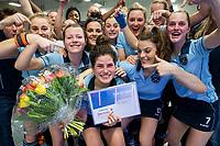 HAMBURG  (Ger) - Match 20,  for FINAL, LMHC Laren - Dinamo Elektrostal (Rus) (3-1).  Photo: topscorer Maxime Kerstholt (Laren).   Eurohockey Indoor Club Cup 2019 Women . WORLDSPORTPICS COPYRIGHT  KOEN SUYK