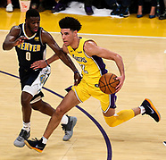 Basketball: 20171002 Lakers vs Nuggets