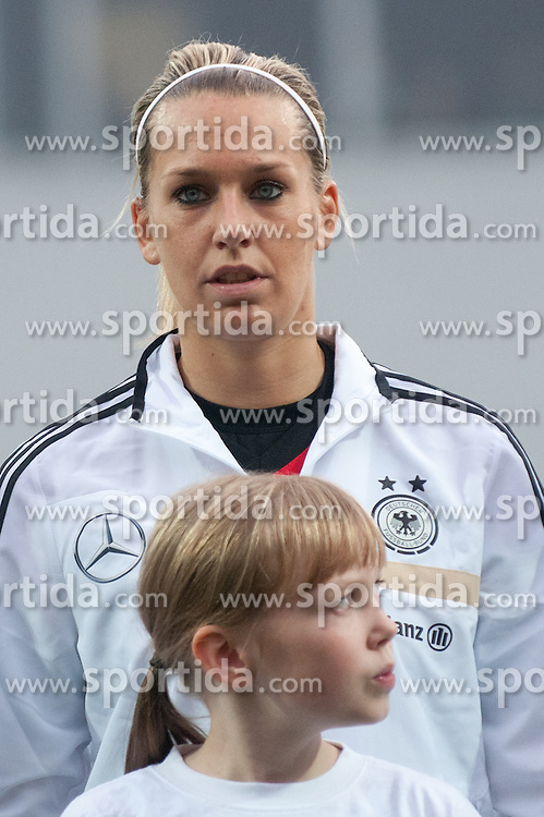 Lena Goessling of Germany during FIFA Women's World Cup 2015 Group A qualification match between Slovenia and Germany on October 26, 2013 in SRC Bonifika, Koper, Slovenia. (Photo by Matic Klansek Velej / Sportida.com)