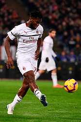 03.02.2019, Stadio Olimpico, Rom, ITA, Serie A, AS Roma vs AC Milan, 22. Runde, im Bild kessie // kessie during the Seria A 22th round match between AS Roma and AC Milan at the Stadio Olimpico in Rom, Italy on 2019/02/03. EXPA Pictures &copy; 2019, PhotoCredit: EXPA/ laPresse/ Alfredo Falcone<br /> <br /> *****ATTENTION - for AUT, SUI, CRO, SLO only*****